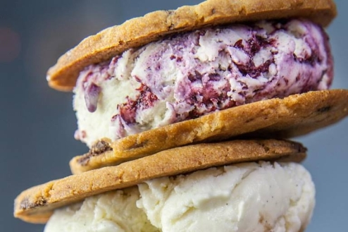 Ice cream sandwich cookie